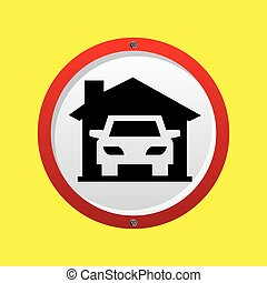 insurance car home icon