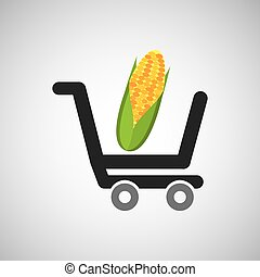 cart buy cob icon design vector illustration eps 10