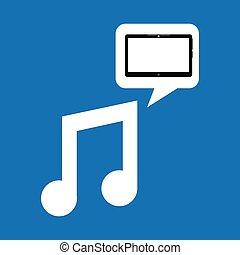 technology music social media design