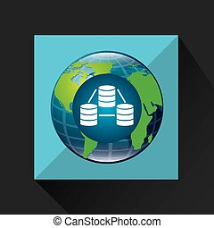 earth global data base connected media