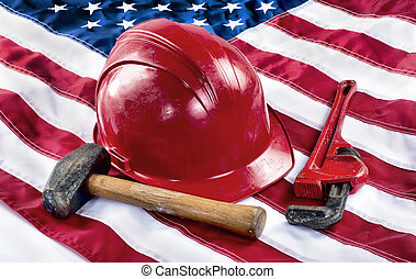 American Worker. - American worker back to work in America.