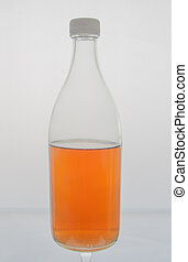 a bottle on isolated background - taken from my studio in...