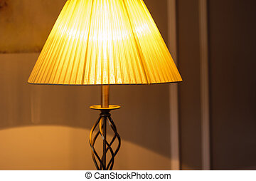 included in the evening in bedroom table lamp - included in...