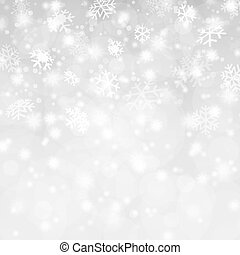 abstract snow flakes background