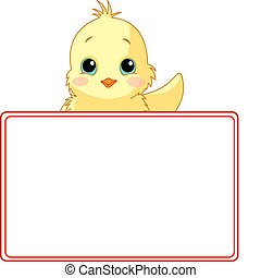 Chiken Place Card