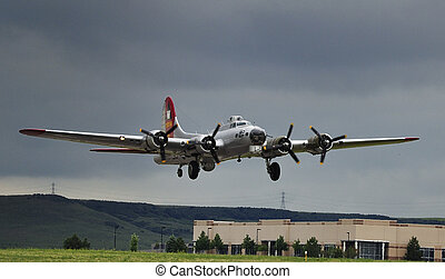 B-17 Flying Fortress - The famous B-17 Flying Fortress...