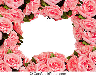 artificial flowers for decoration frame