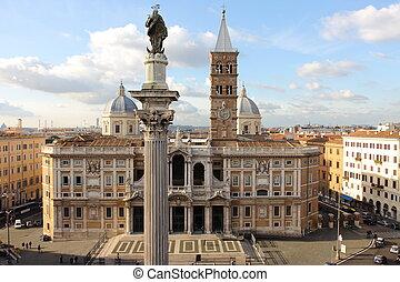 Santa Maria Maggiore - Basilica Santa Maria Maggiore in Rome...