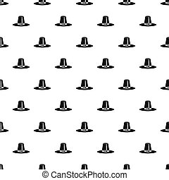 Pilgrim hat pattern, simple style - Pilgrim hat pattern....