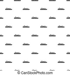 Ship pattern, simple style