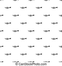 Trumpet pattern, simple style - Trumpet pattern. Simple...