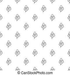 Leaves pattern, simple style - Leaves pattern. Simple...