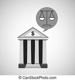bank concept safe balance money icon