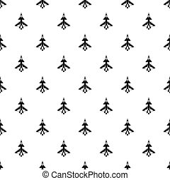 Military aircraft pattern, simple style - Military aircraft...