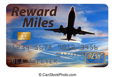 Reward air miles credit card