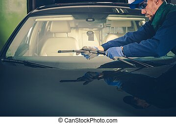 Windscreen Wiper Replacement by Professional Auto Service...