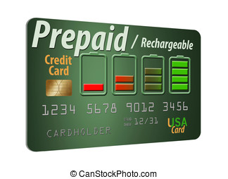 Rechargeable and pre-paid credit card - A Prepaid Credit...
