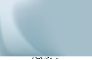Satin blue silk curtain with delicate folds. Abstract background.