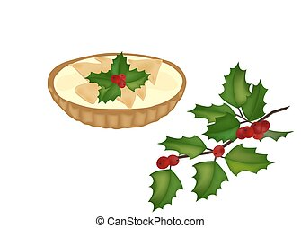 mince pie and holy tree branch - mince pie and a holy tree...