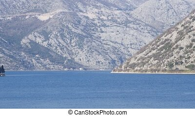seascape of Boka Bay, Montenegro