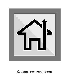 Home Icon Sign and symbol - Home Icon Silhouette, art vector...