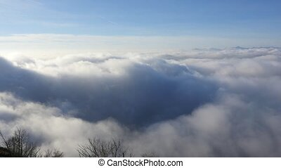 above the clouds before sunset - View above the clouds...