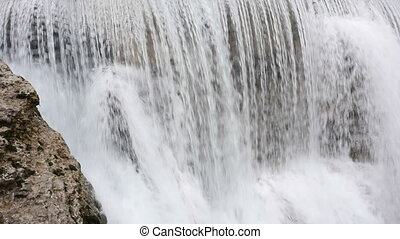 Waterfall in Montenegro on Cijevna river