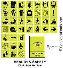 Make your own Health and Safety signs - Yellow make your own...