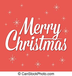 Merry Christmas Text Background