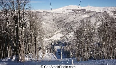 ski resort in winter - ski resort Kolashin in wintertime,...
