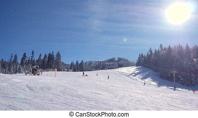 ski resort in winter - ski resort Kolashin in wintertime,...