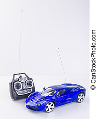toy car or radio control car on background. - toy car or...