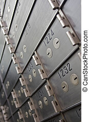 Safety Deposit Boxes