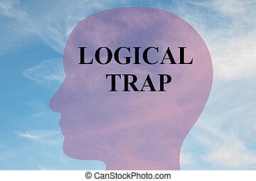 Logical Trap concept - Render illustration of 'LOGICAL TRAP'...