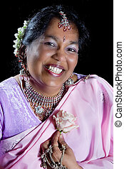 Smiling Indian