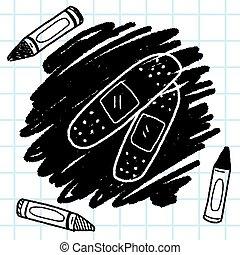 doodle plaster