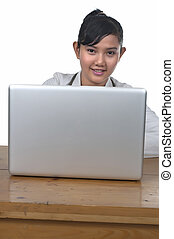 Doctor and Laptop
