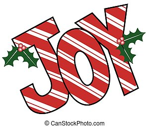 Joy Mistletoe Letters - Joy MIstletoe Letters