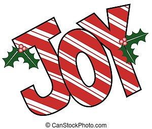 Joy Mistletoe Letters - Joy MIstletoe Letters
