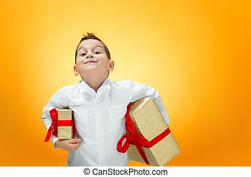 the boy with the gift