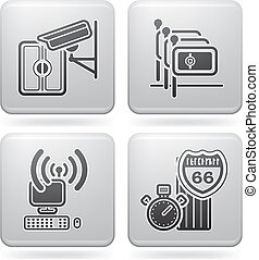 Hotel Related Icons - Various hotel icons: Video...