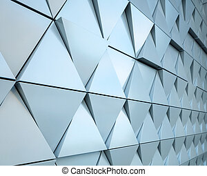 Abstract architectural detail - Abstract close-up view of...