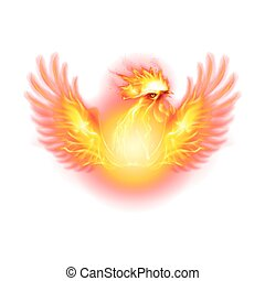 Fire Rooster Symbol of the New Year by Chinese Calendar....