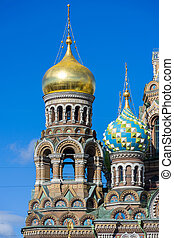 Church of the Savior on the spilled blood - The russian...