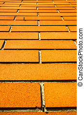 mozzate street varese abstract pavement of curch and wall...