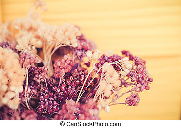 vintage flower grass background