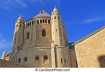 Dormition Abby in Jerusalem - The historical Dormition Abby...