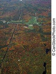 Bracebridge golf course aerial - aerial view of a golf...