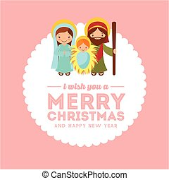 2016 10 18 1465 GST - holy family card with merry christmas...