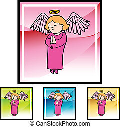 Praying Girl Angel